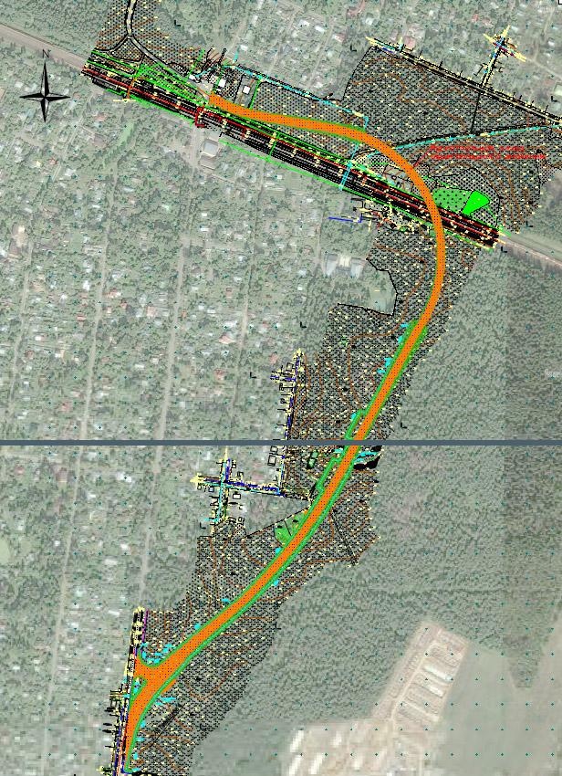 Схема прохождения новой трассы