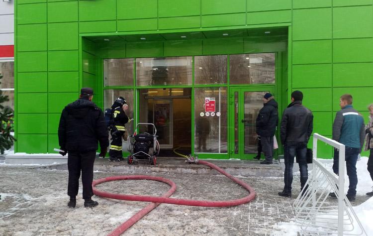 Фотографии с места пожара
