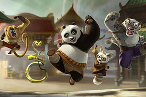 панда кунфу секс