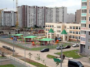 Детский сад и школа в 20 мкрн.