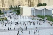 Проект нового облика площади Юности выставлен на онлайн-голосование