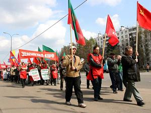 По Центральному проспекту пройдет первомайское шествие