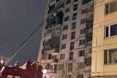 На пожаре в Ржавках спасли двух детей