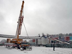 Балку моста на Солнечной аллее переустановят в ночь на 19 января