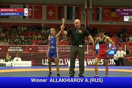 15-летний зеленоградец стал вице-чемпионом Европы по греко-римской борьбе