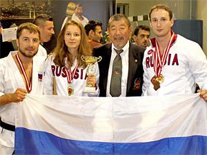 Зеленоградские каратисты взяли семь медалей мирового турнира в Турции