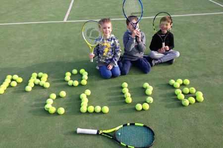 Большой теннис для маленьких
