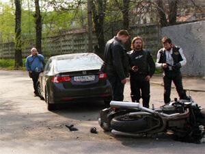 С начала мая в ДТП пострадали два мотоциклиста