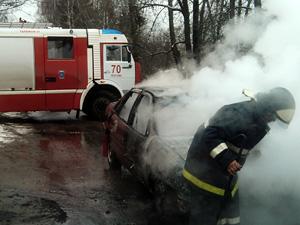 За четверо суток в Зеленограде сгорели пять машин