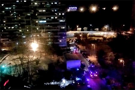 Один человек пострадал при пожаре в 1-м микрорайоне