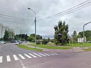 У перекрестка Сосновой и Озерной аллей планируют устроить парковку на 320 машин