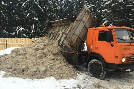 Снег из Зеленограда незаконно вывозили в Андреевку