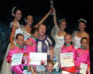 Балетная студия «Грация» взяла Гран-при в Черногории