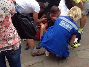 К пострадавшему в Андреевке ребенку прилетел медицинский вертолет