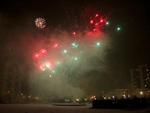 Запускать фейерверки в Новый год разрешили на 7 площадках