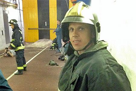 Пожарный из Зеленограда признан лучшим в Москве