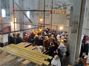Строительство храма в 14-м районе возобновится в апреле