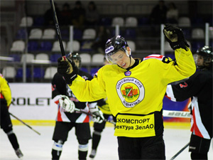 ХК «Зеленоград» стал вторым в чемпионате Москвы