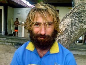 Бродяга на Бали