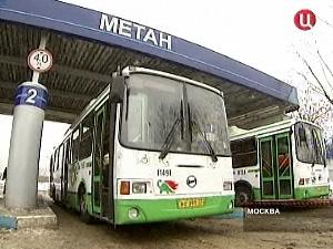 Зеленоградские автобусы переведут на газ