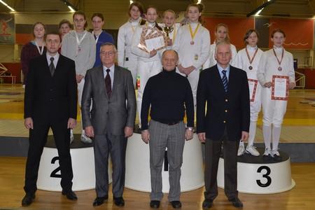 Сборная Зеленограда выиграла турнир по фехтованию