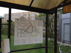 На остановках развесили «пиратские» схемы автобусных маршрутов