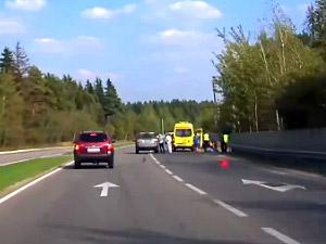 На Георгиевском шоссе насмерть сбили человека