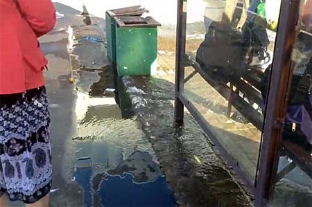 Подземные воды на Крюковской площади