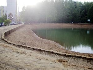 Начался второй этап благоустройства Дунькиного пруда