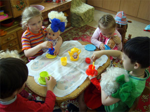 Детские сады закрепили за домами