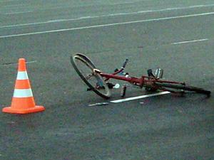 На Заводской улице машина сбила велосипедиста