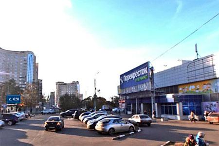 «Перекресток» в 9-м микрорайоне реконструируют