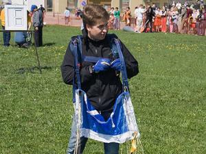 Алексей Немерюк стал мастером спорта по прыжкам с парашютом