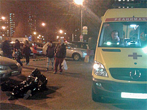 Пенсионера сбили насмерть на парковке у ТЦ «Столица»