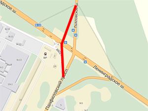 Выезд из Зеленограда у «Штыков» переведут на объездную дорогу в ночь на 16 мая