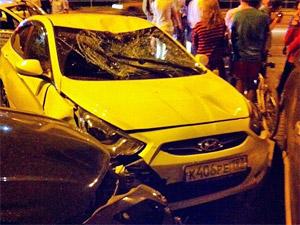 Нетрезвый водитель сбил пешехода на Центральном проспекте