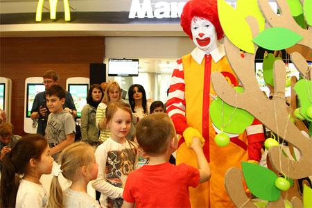 «Макдоналдс» в 23-м микрорайоне откроется в мае