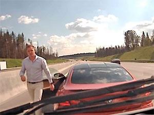 Мешавший проезду «скорой» на Новой Ленинградке водитель BMW отделался штрафами