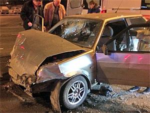 В аварии у площади Юности серьезно пострадал пассажир