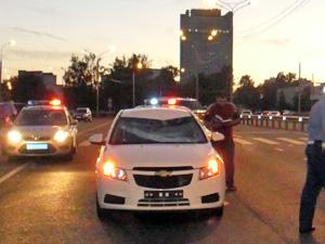 На Сосновой аллее машина сбила на «зебре» велосипедиста