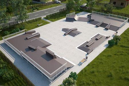 Опубликован проект будущей скейт-площадки на Сосновой аллее