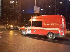 ДТП с пожарной машиной
