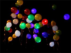 В парке Победы запустят светодиодные шары