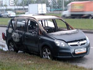 В «новом» городе сгорели две машины