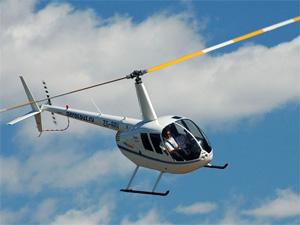 Предприниматель сбежал от полиции на вертолете