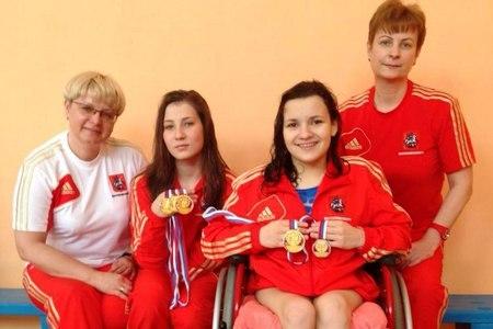 Две зеленоградки стали чемпионками России по плаванию среди лиц с ограниченными возможностями