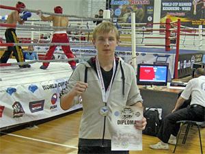 13-летний зеленоградец привез «серебро» с Кубка мира по кикбоксингу