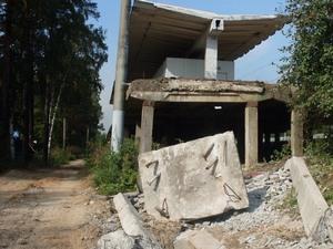Строителей четвертого пути ОЖД оштрафовали за «греческие развалины»