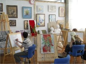 Школа рисования «Палитра увлечений» приглашает на занятия