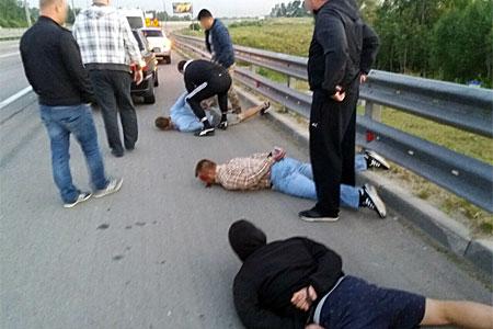 Банду угонщиков корейских машин из Зеленограда поймали в Подмосковье